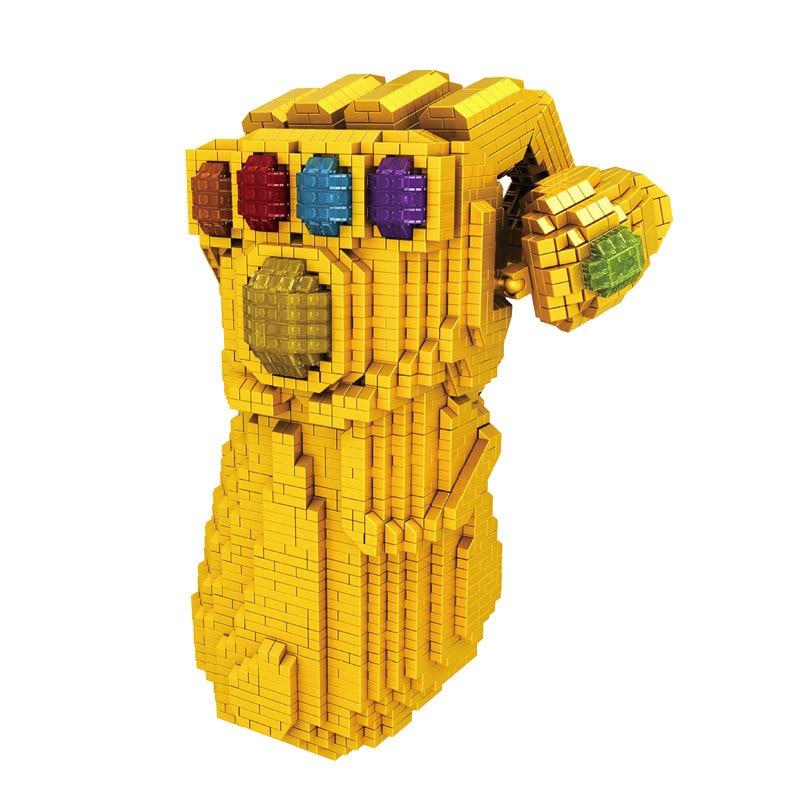 4100 pièces LEGOings marvel Thanos Gant de L'infini Avengers Infinity War modèle de Blocs De Construction jouets de Collection