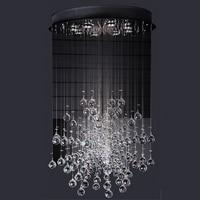 Led Chandelier Lamp With G10 Bulb 95 245v Waterproof Driver Laser Stainless Steel Base K9crystal Dandelion