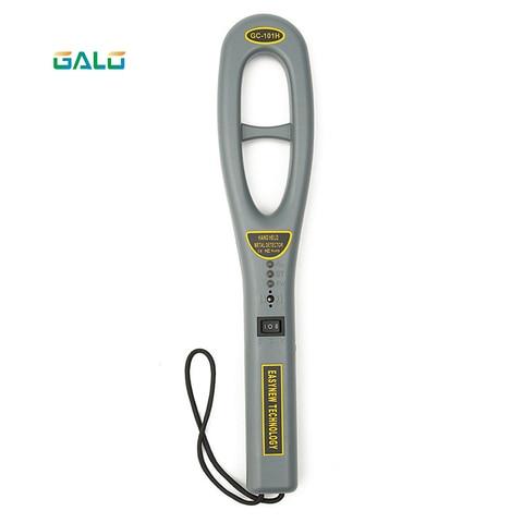 gc101h venda por atacado melhor detector de metais a mao portatil eletronico para a