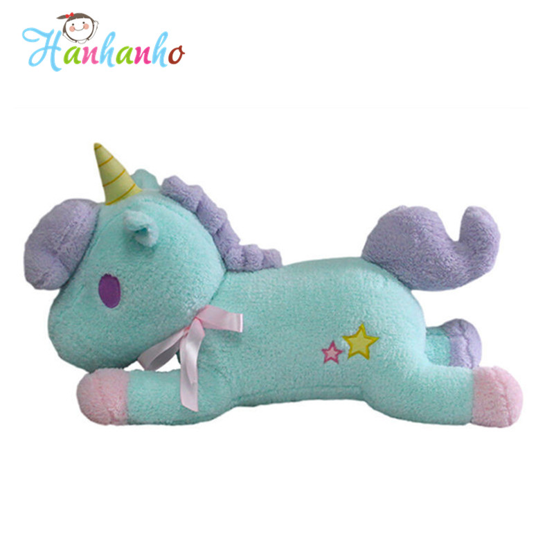 50cm New Cute Unicorn Plush Toy Giant Stuffed Animal Doll Lovely Horse Toy Gift For Childern hot sale 50cm the last airbender resource appa avatar stuffed plush doll toy x mas gift kawaii plush toys unicorn