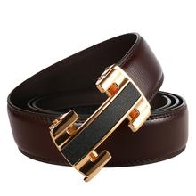 2019 Famous Brand Designer Belt Male Jeans Belt New Arrival Leather Strap Men's Belts Top Sale Automatic Buckle Belts for Men hot sale business male black belts famous brand popular leather belt newest automatic buckle designer men black belt 2019