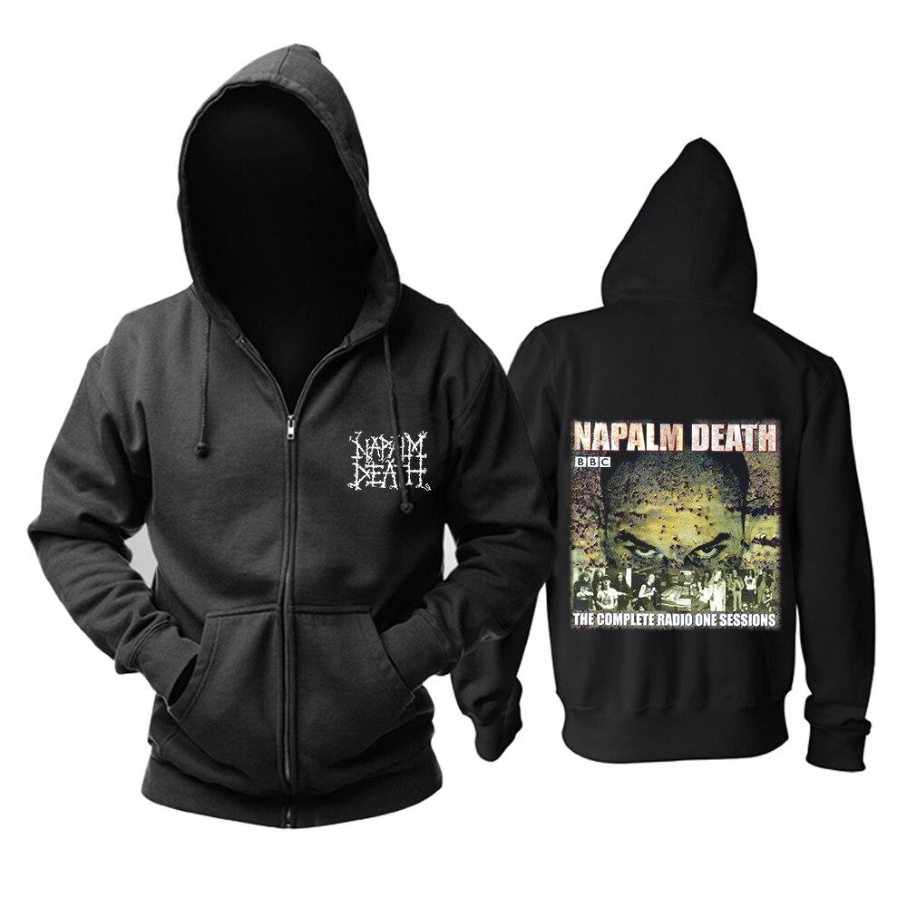 Bloodhoof DEATH โลหะ DECAPITATED NAPALM DEATH Grind ใหม่ Hoodies ขนาดเอเชีย-ใน เสื้อฮู้ดและเสื้อกันหนาว จาก เสื้อผ้าผู้ชาย บน   3