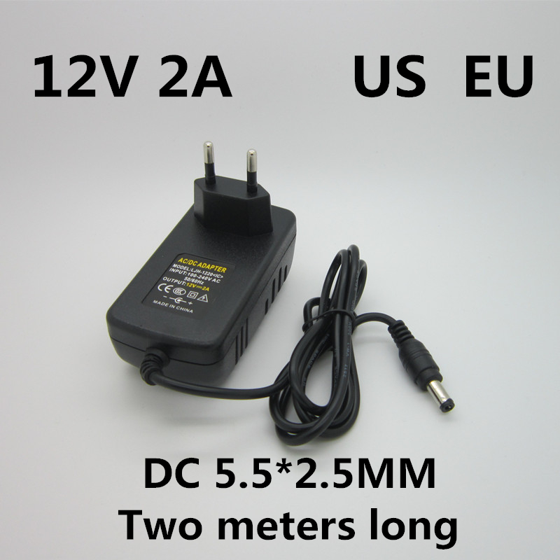 UpBright New Global 12V 3.8A AC//DC Adapter for Security CCTV Camera Switch Converter 12VDC 3.8 A 5.5mm Barrel Round Plug Tip 4A 12.0V Power Supply Cord Cable Charger Mains PSU w//OD