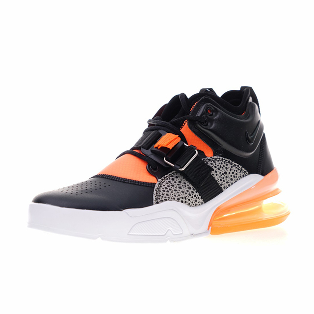 Nike Air Force 270 Men's Running Shoes, High Quality Shock Absorption Non-slip Outdoor Sports Shoes  AH6772 004 AH6772 006