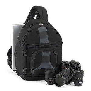Image 1 - Lowepro Schleuder 350 AW DSLR Kamera Foto Sling Schulter Tasche mit Wetter Abdeckung Freies Verschiffen