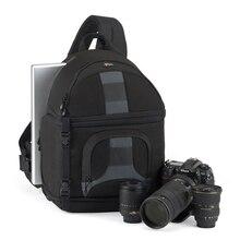 Наплечная сумка Lowepro SlingShot 350 AW для DSLR камеры, с чехлом для погоды, бесплатная доставка