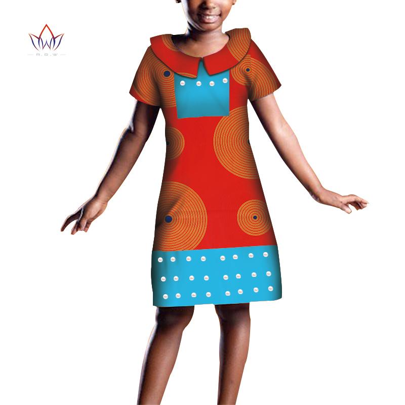 Одежда для девочек в африканском стиле; Детские традиционные
