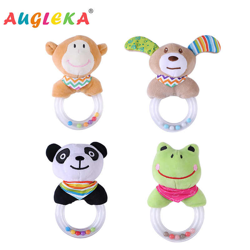 Shujin детские погремушки токарные висячие кольца животное Висячие Детские игрушки