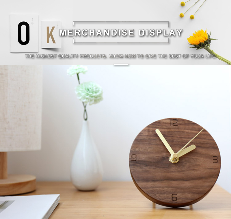 vintage wooden clock clock industrial la crosse mini antique decoration reloj sobremesa moderno decoracion alarm clock batman wood clock desk (6)