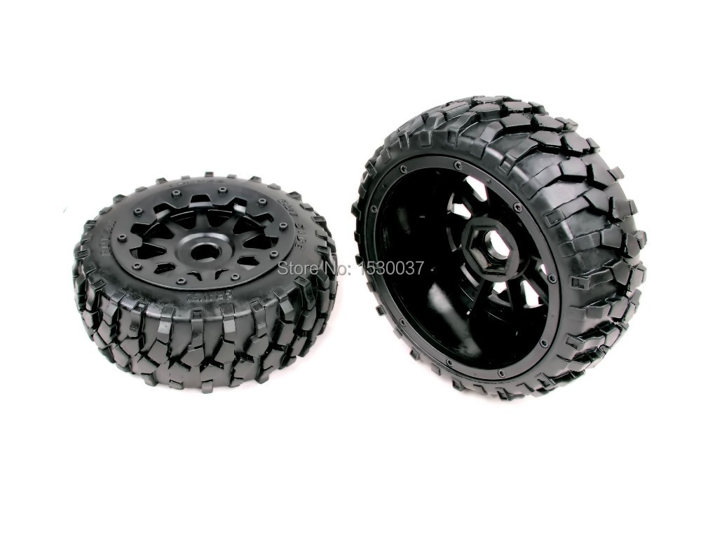 1/5 rc car racing parts,Baja 5B Macadam Front Wheels X 2 tyre with free shipping 5b high strength nylon rear macadam wheels set for baja parts free shipping