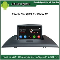 Upgraded Original Car Radio Player Suit to BMW X3 E83 2004 2010 Car Video Player Built in WiFi GPS Navigation Bluetooth