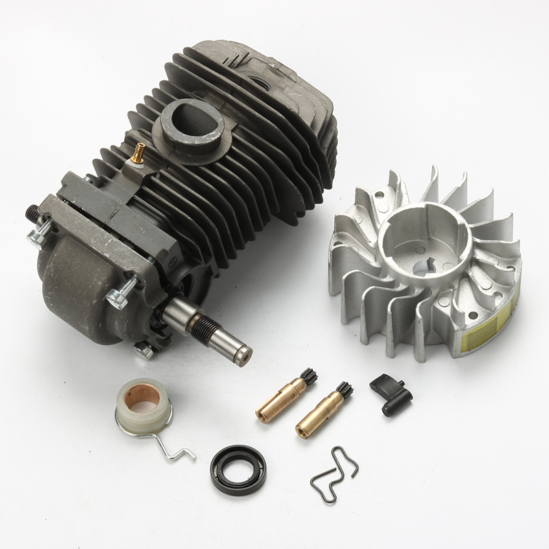 New 42.5MM Cylinder Piston Kits Crankshaft with Flywheel Oil Pump Seal For Stihl 023 025 MS230 MS250 Chainsaw все цены