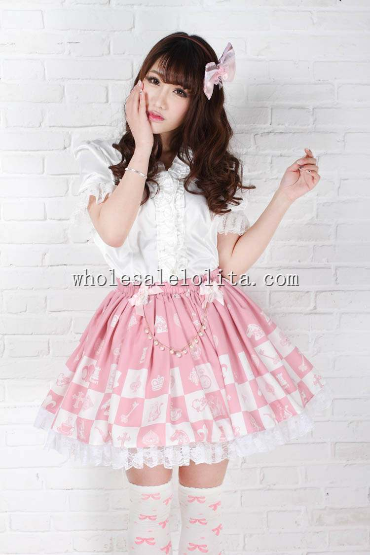 Dress Sale Alice Princess Pink Sweet Print SK Lolita Skirt