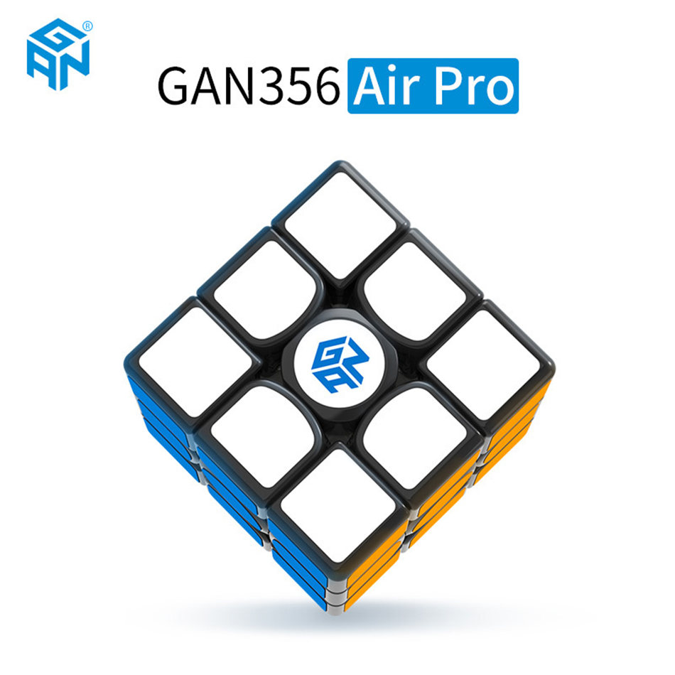 GAN 3x3 Cube Gan 356 Air Pro 3x3x3 Magic Cube Profissional Speed Cube Puzzle Toys For Children Kids Gift