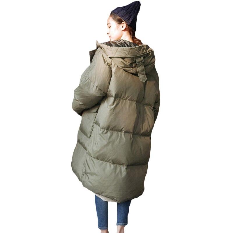 Warme Winterjas Winkels.Kopen Goedkoop Vrouwen Winter Oversized Jassen Lange Warme Jas Losse