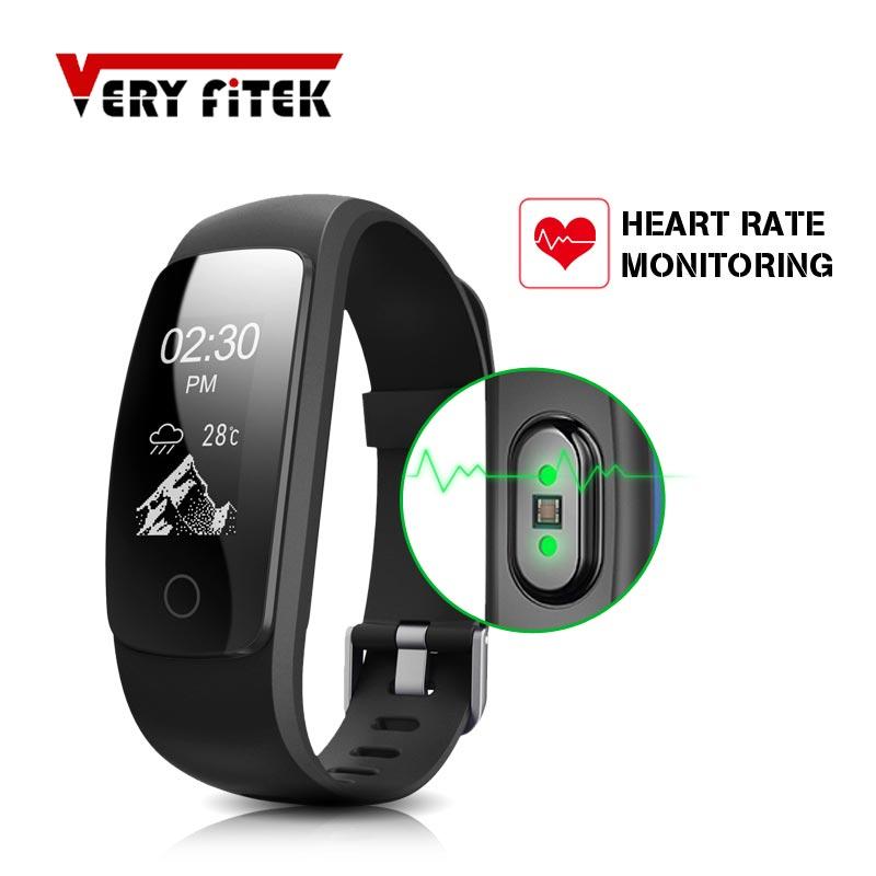 ID107 PIÙ Braccialetto Intelligente Monitor di Frequenza Cardiaca di Musica Telecomando Fitness Cardio Tracker Wristband per IOS Android Pk Mi Fascia 2