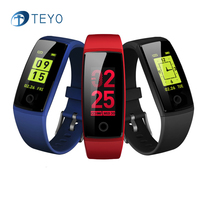 Teyo Smart Band V10 Heart Rate Monitor Blood Pressure Fitness Bracelet Waterproof Pedometer Smart Wristband Watch