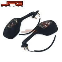 Motorcycle Rear View Side Rearview Mirror Signal Light For SUZUKI GSXR600 GSXR750 06 07 08 09