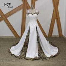 Gaun pengantin gaun pengantin tanpa lengan tak bertali bahu gaun satin gaun pengantin putri 2017 gaun baru plus saiz gaun pengantin renda