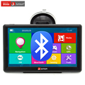 (Spain Warehouse) Junsun 7 inch Car GPS Navigation Bluetooth AVIN FM 8GB/256MB Capacitive Screen Sat Nav Free Map Update