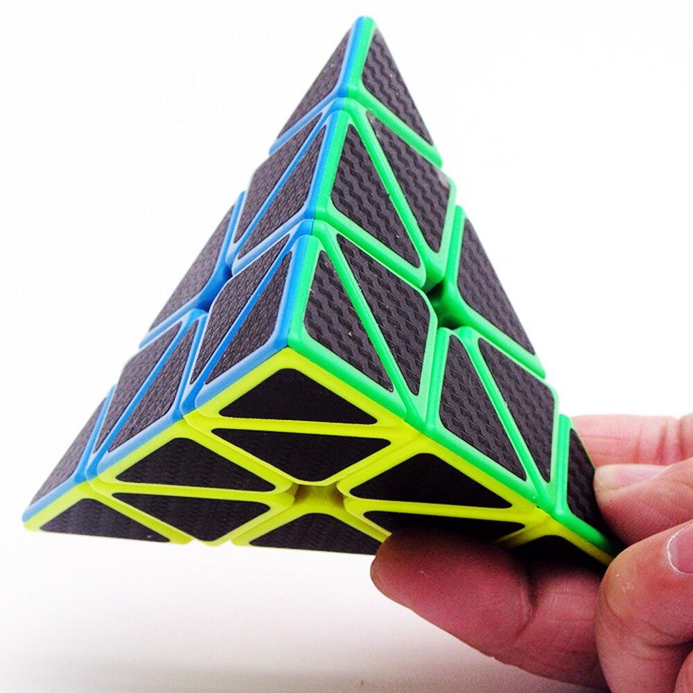 5 pièces/ensemble Megico Cubos de ZCUBE 2*2 3*3 sur 2x2x2 3x3x3 vitesse biais Puzzle Cube Megaminx Triangle professionnel Cubes magiques pour garçon - 5