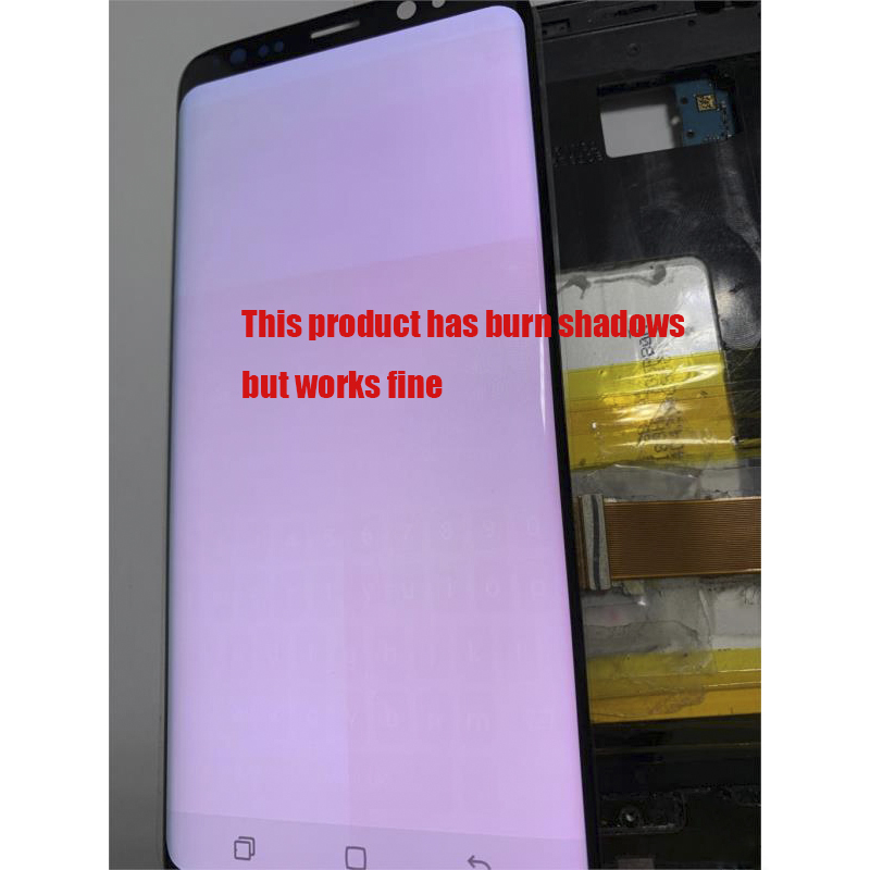 HTB1tAnuTgHqK1RjSZFPq6AwapXaD Original LCD For Samsung Galaxy S8  G950 G950F  Burn-in Shadow Lcd Display With Touch Screen Digitize
