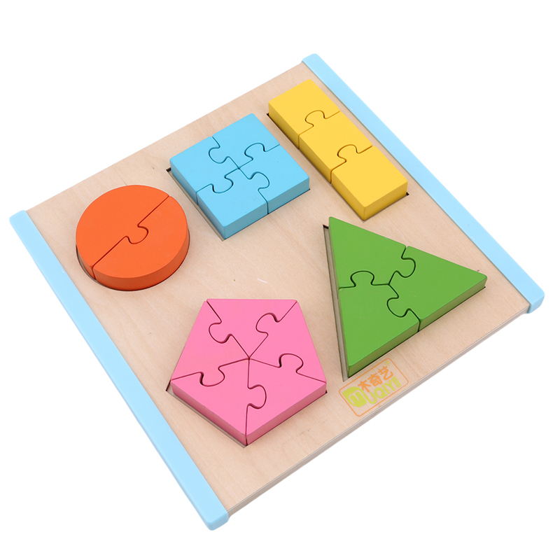 Colorful Intelligence Development Toys For Children Wooden Jigsaw Puzzle Games Board Learning Education Popular Toy