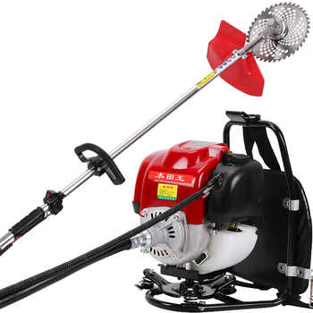 2020 New High Quality Backpack Brush Cutter Grass Cutter with GX35 4 stroke 35cc Petrol Engine Multi Brush Strimmer Tree cutter