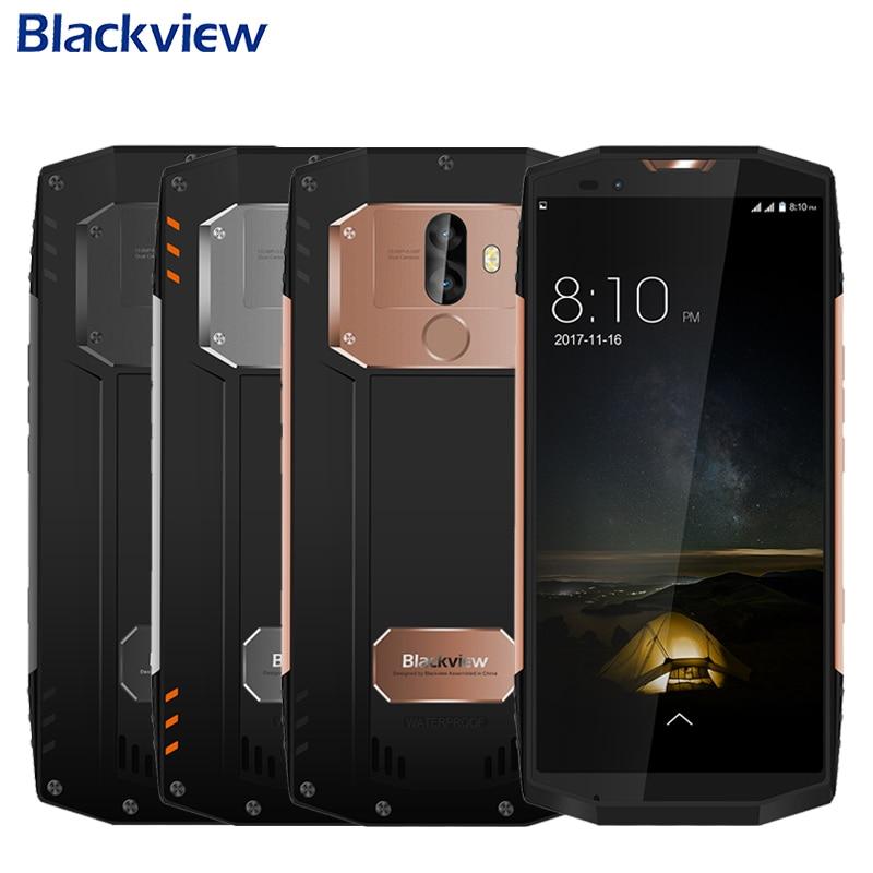 Original Blackview BV9000 Pro <font><b>IP68</b></font> Waterproof <font><b>Cell</b></font> <font><b>Phone</b></font> 5.7&#8243; Full Screen 6GB+128GB MTK6757CD Octa Core Android 7.1 Smartphone