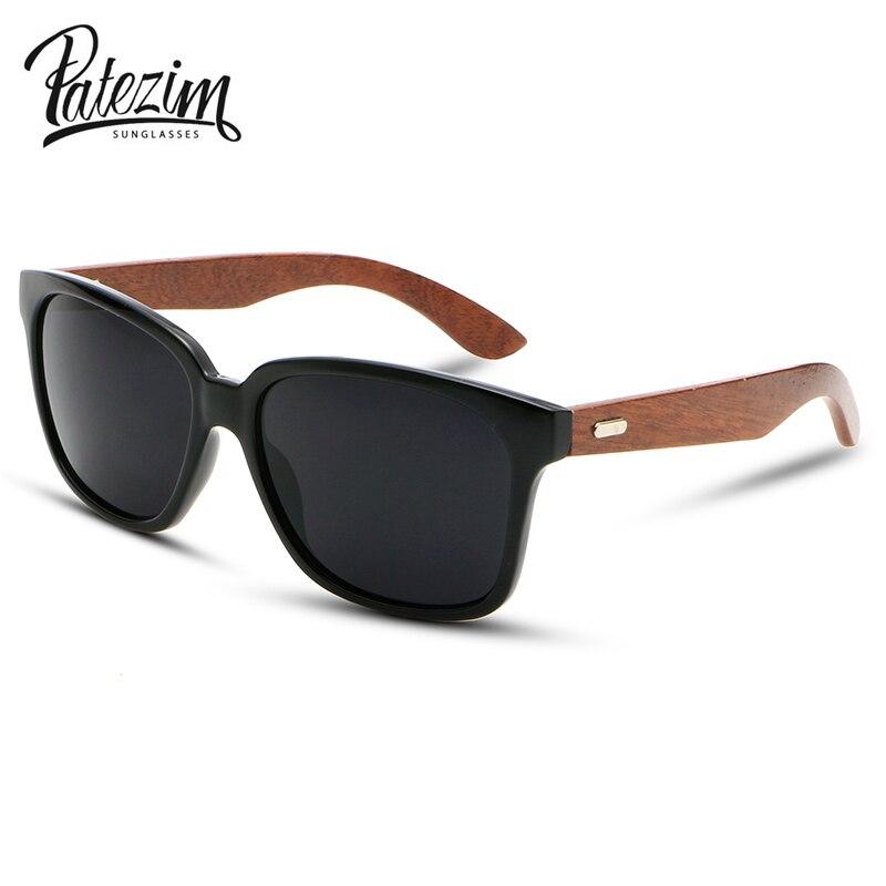 2016 rayos diseño de madera marco gafas de sol Unisex madera pie ...