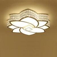Современные потолосветодио дный чные светильники креативные акриловые светодиодные потолочные светильники в форме цветка Avize белые свети