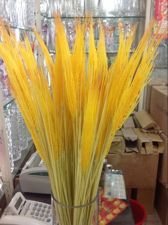 ⊱High simulation of plastic fake ᐊ golden golden wheat ...