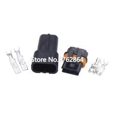 10pcs Male connector terminal car wire 2 pin female Plug Automotive Electrical-DJ70232Y-6.3-21