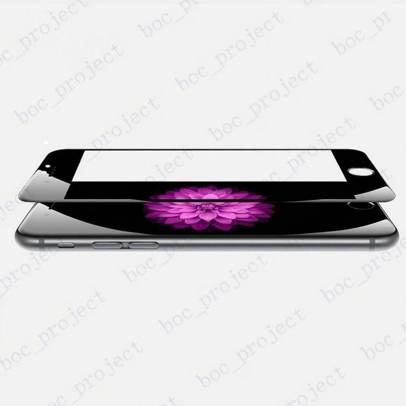 3D Buruq Edge Tam Örtüklü Cib telefonu Temperli Şüşə Ön - Cib telefonu aksesuarları və hissələri - Fotoqrafiya 3