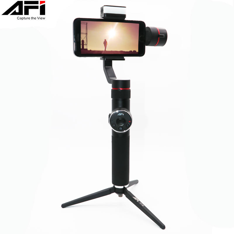 AFI V5 Handheld Smartphone Stabilizer 3 Axis Gimbal For iPhone XS XR X 8Plus 8 7P