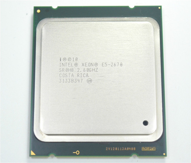 INTEL Xeon E5 2670 LGA 2011 CPU Процессор 2.60 ГГц 20 МБ 8-ядерный SR0H8 C1 115 Вт