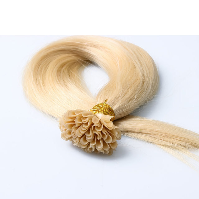 7A Brazilian Remy Keratin Fusion Hair Extensions 1g Strand U Tip Pre Bonded Human