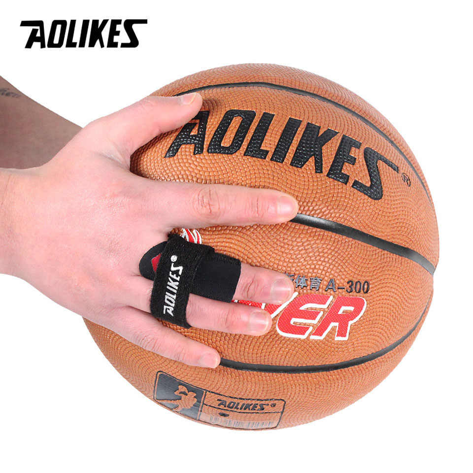 Aolikes 1 шт. Спортивная накладка на палец защитные повязки бандаж для поддержки баскетбола волейбола на пальцах снятие боли в спорте