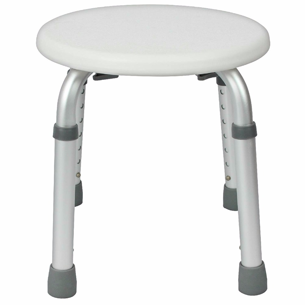 Us 43 94 45 Off Shower Stool Adjule Bath Tub Seat For Bathroom Safety Shaving Heavy Duty Lightweight Elderly Disabled In