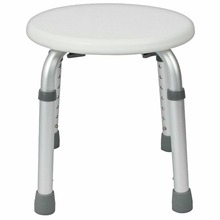 Shower Stool - Adjustable Bath Tub Seat for Bathroom Safety & Shaving - Heavy Duty & Lightweight for Elderly& Disabled