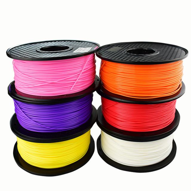 PLA/ABS/PETG 3D Printer Filament 1.75MM 1kg 100/200 m Plastic Supplies Filament Material For RepRap 3D filament ABS/PLA filament