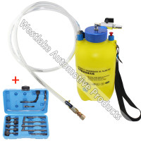 Pneumatic Auto Transmission Oil Filling Set Gear Box Oil Adding Tool 5 Liter 13pcs Adaptor Set