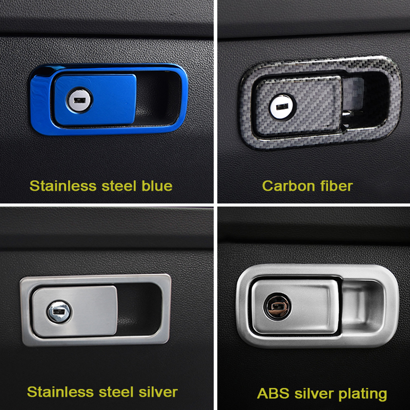 Atreus Car Co pilot Glove Storage font b Box b font Handle Covers Stickers For VW
