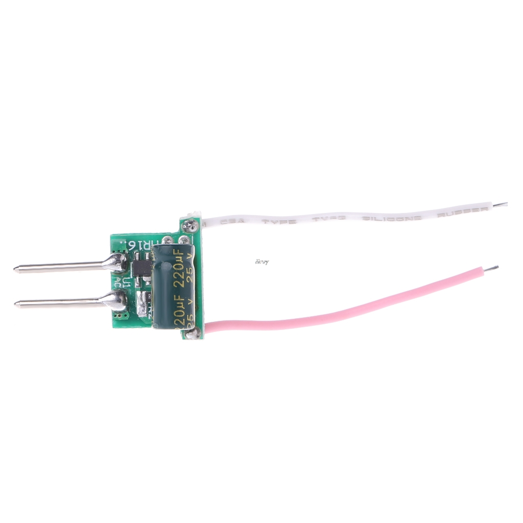 1 3w Mr16 Low Voltage Power Supply Led Driver Convertor Transformer Constant Current 300ma Dc