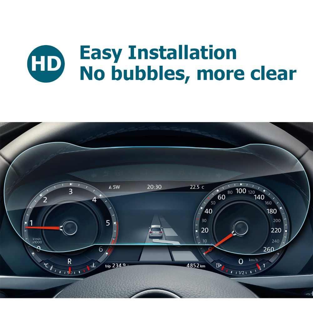 RUIYA ekran koruyucu için Volkswagen Tiguan 12.3 Inç Volkswagen Dijital Kokpit, 9H temperli cam ekran koruyucu film