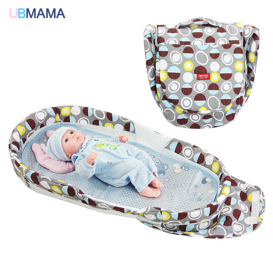 High quality baby bed Panda pattern folding bed thickening change diaper bed portable folding bed for Give pillow and matsHigh quality baby bed Panda pattern folding bed thickening change diaper bed portable folding bed for Give pillow and mats