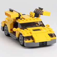 City Creator 3 in 1 Cool Cars Sports car Truck Building Blocks Sets Bricks Model Kids Toys Compatible Friends