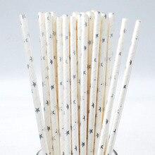 Foil Paper Party Straws