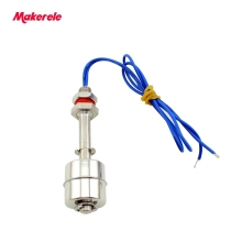 110/220V Stainless Steel Tank Liquid Water Level Sensor Horizontal Float Switch MK-SFS7510 1pcs 150mm stainless steel float switch tank liquid water level sensor 220v
