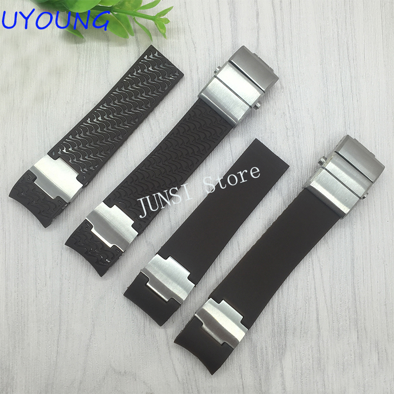 Quality Silicone Watch band 22mm For 265-90-3T/93 Silicone Watch strap Special interface Alternative watchband Strap Bracelet кольца sokolov 94012142 s